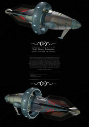 Space yacht - Triumph ...some zoom required? by Do-Mo