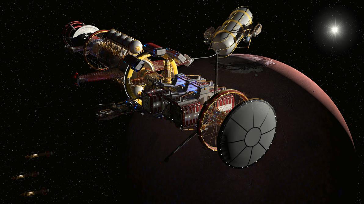 Mini-Mag Orion style cargo ship - Carthage 3 by Do-Mo