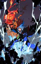 Commission: Finchzero - Agito by OverlordJC