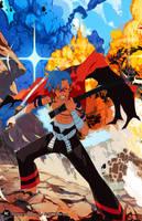 Swordsman Kamina by OverlordJC