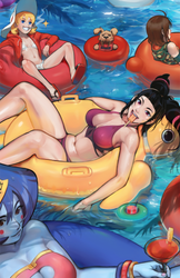 Street Fighter and Friends Swimsuit Special 2017 by OverlordJC
