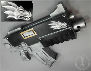 Salamanders Bolter by AKB8