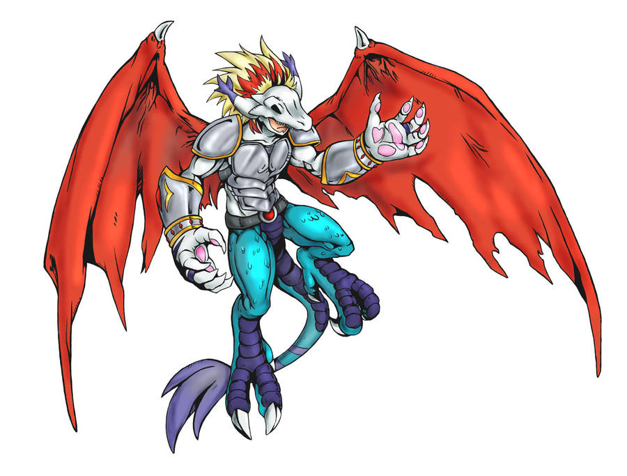 Digimon Commission 2 Oc For Fandramon By White Angel Ariah On