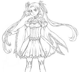 Aria doodles Costume Design by white-angel-ariah