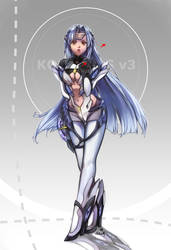 [Commission] KOS-MOS v3 by white-angel-ariah