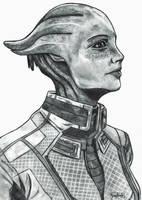 Liara T'Soni | Mass Effect 3 by YunaAnn