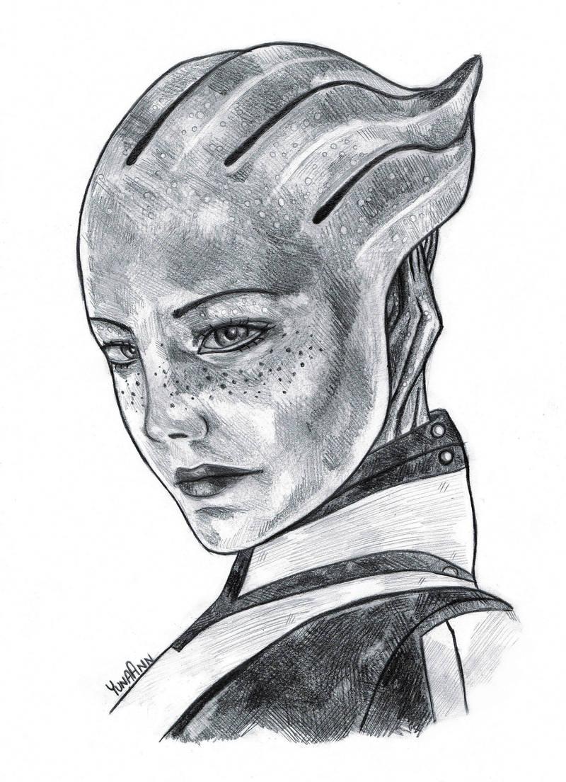 Liara T'Soni | Mass Effect by YunaAnn