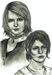 Mary and Maria | Silent Hill 2 by YunaAnn