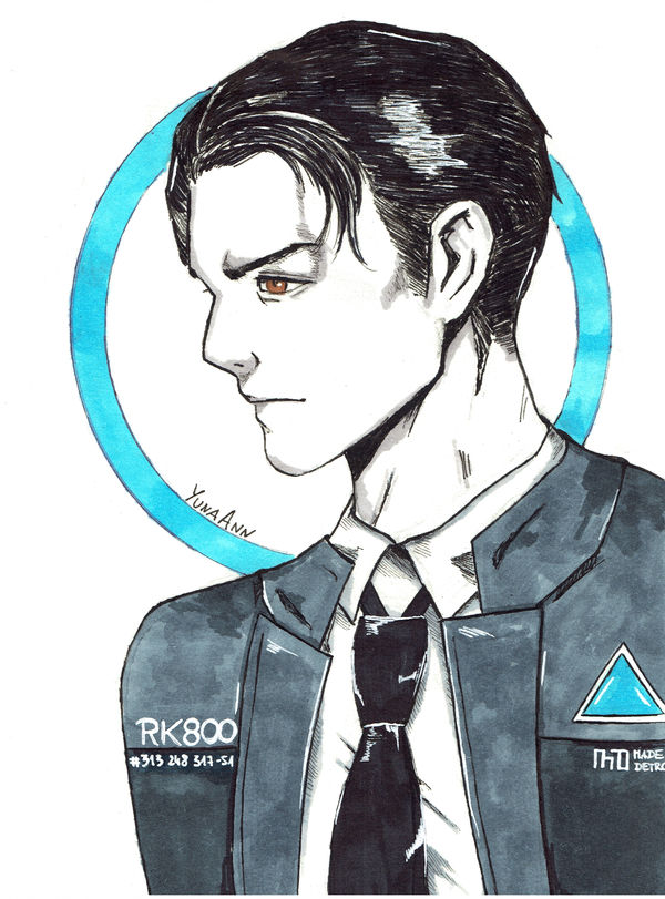 Connor | Detroit Become Human by YunaAnn