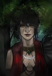 Morrigan   Dragon Age by YunaAnn