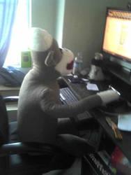 My big monkey by ChaotikCat84