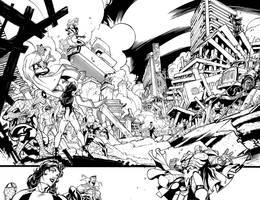 Japan Devastation by ElVlasco