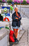 Waiting for the boat - not the bus! by Arte-de-Junqueiro