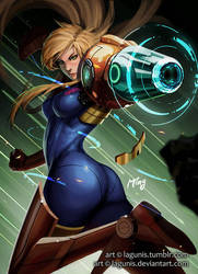 Zero Suit Samus by Lagunis