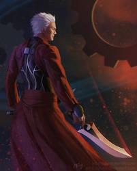 Fate/Unlimited Blade Works - Archer by Lagunis