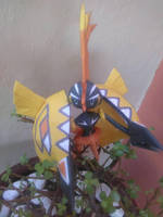 tapu koko papercraft by ZygardeXYZ
