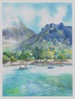 Retour de peche a Moorea by Papercolour