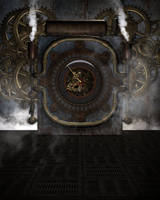Steampunk Background 1 by Kachinadoll