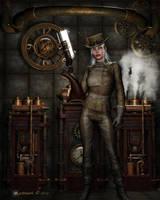 Steampunk Rebel by Kachinadoll