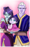 Aveline's Family by VexyFate