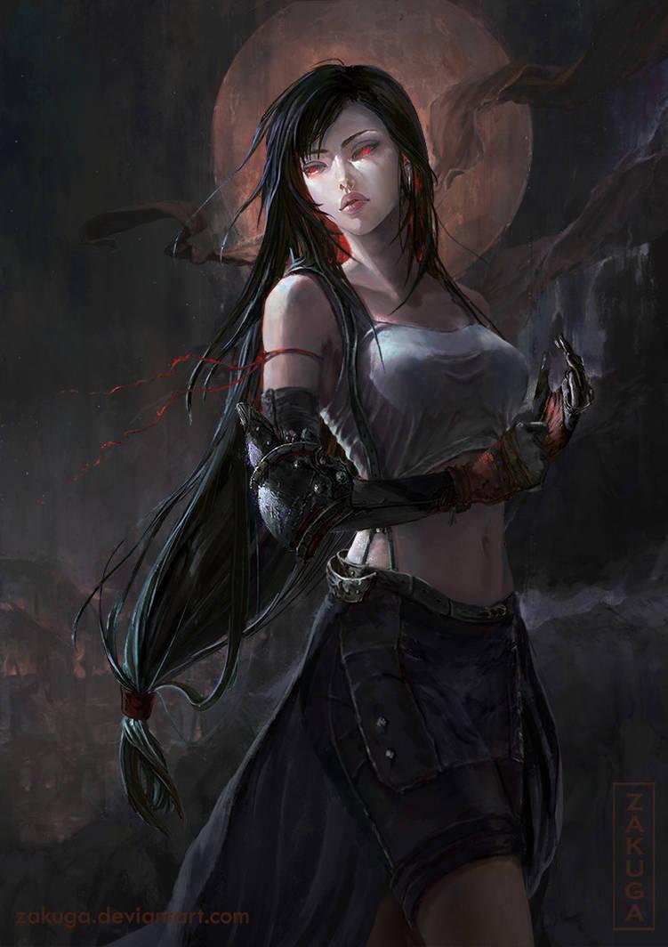 Final Fantasy 7: Tifa by ZAKUGA