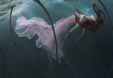 Final Fantasy 7: Aerith by ZAKUGA