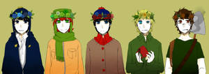 Flower Crowns by panako
