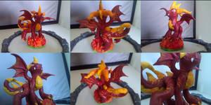 Custom Skylanders Toy:: Flame by Neffertity