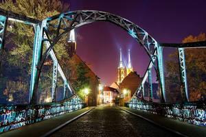 Tumski Bridge by TomekKarol