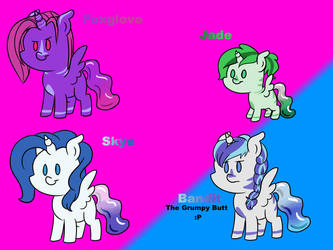 My Liquicorn Family by Fluttershy-Lover