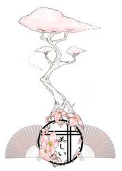 Cherry Blossom Tattoo by SamHall