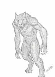 Werewolf - The Beast Within Concept Art by cwpetesch