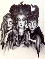 Sanderson Sisters- Hocus Pocus by Enn-Rosswen