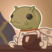Stellaris: Astronaut Snail by LongGameShort