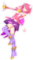 (MMDxLeague of Legends) Star Guardian Lux! by naruchan101