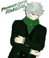 (MMDxRWBY) Professor Ozpin (DL CLOSED) by naruchan101