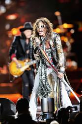 Aerosmith:  Steven Tyler II by basseca