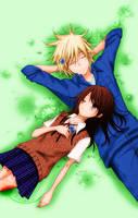Teru and Kurosaki by jalonzo1610