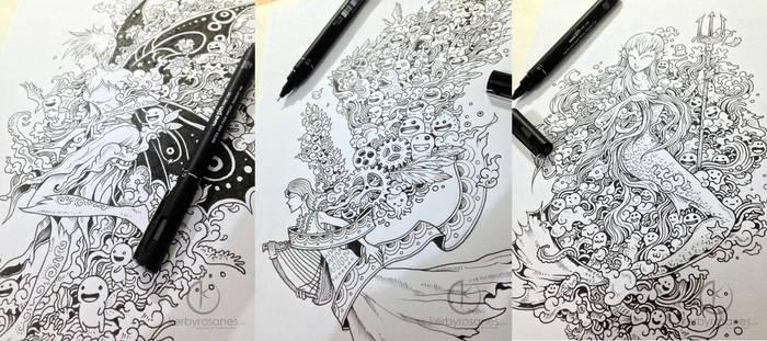 LADIES by kerbyrosanes