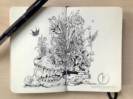 MOLESKINE DOODLES: Bedtime Stories by kerbyrosanes