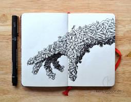 MOLESKINE DOODLES: Handmade by kerbyrosanes