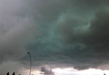 Green Storm Clouds by Trip-Artist