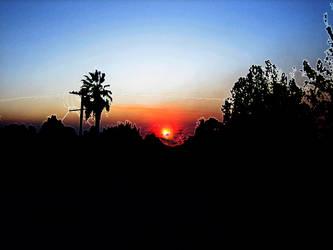 Fire Sunset by Trip-Artist