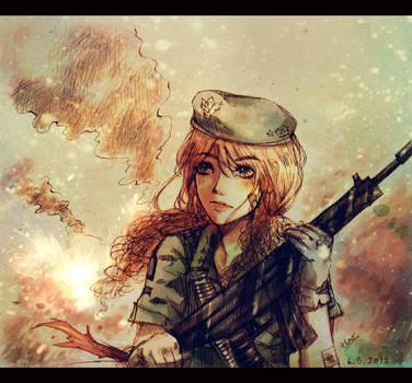 Army Girl by Paerytopia