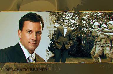 Diplomatic Immunity. Leighton Mills (Craig Parker) by Holi--Day