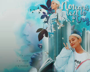 Ariana Grande-No Tears Left to Cry by melissaalison13