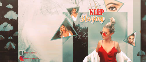 Keep Slaying (Facebook Cover) by melissaalison13