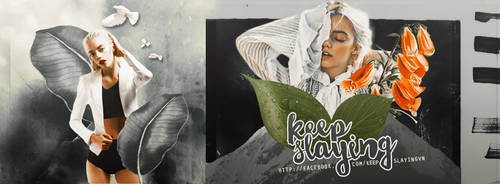 Keep Slaying Fanpage Facebook Cover by melissaalison13