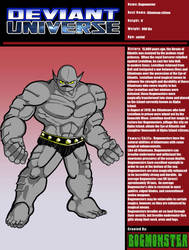 Deviant Universe: Bogmonster by bogmonster