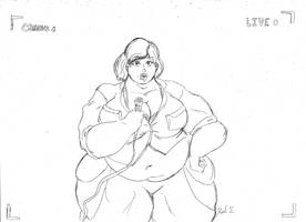 April ONeil Sumo Transformation 4/4 by CatsTuxedo on